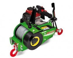 Verricello Forestale ForestWinch VF 150 by Docma Con Fune