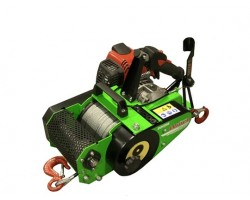 Verricello Forestale ForestWinch VF 150 Automatic by Docma Con Fune