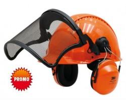 Elmetto Forestale Peltor G3000M Arancione
